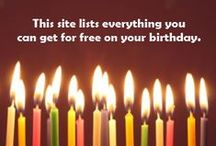 Celebrating Birthdays / by Linda Humphrey