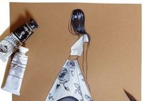 My Sketches / Sketches, commissioned work and bits of my portfolio. (Fashion Illustrator, Brooke Hagel)