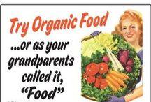 Organic Stuffs! / No need to panic... when it's organic!