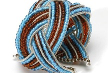 Jewelry - Bracelets - Braided Cuff Variations / by Stephanie Black