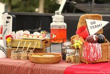 Tailgate!  / Football treats / by Jacki Matheny