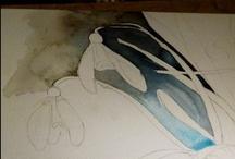 Ein Schneeglöckchen Aquarell entsteht / A snowdrop watercolor created / Zu Beginn des Frühlings habe ich ein Schneeglöckchen Aquarell gemalt. Hier besteht die Chance das Entstehen Schritt für Schritt mitzuerleben. - Mehr Informationen unter http://frankkoebsch.wordpress.com/2013/03/09/schneeglockchen-aquarell-von-frank-koebsch/ In early spring, I painted a watercolor snowdrops. Here is a chance to witness the emergence of step by step.