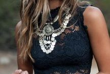 FASHION   LACE / i love lace , especially when i'm wearing it. / by Malia @ Just Wandering