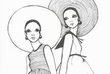 She's a Sketch: Vintage Fashion