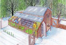 Farm: Greenhouses / Sheds / by Linda Humphrey