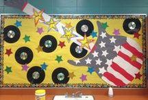 School - Hall Decor Ideas / by Debbie Jones