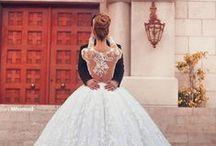 LOVE   WEDDING DRESS / by Malia @ Just Wandering