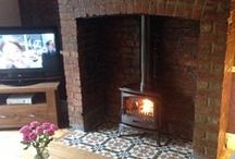 Hearth Ideas - Tiles / Something a bit more than slate...