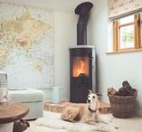 Free Standing Stoves - Contemporary