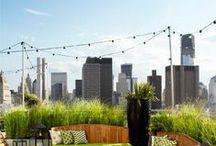 Moje wymarzone osiedle / Proste, nowoczesne formy, a do tego dużo zieleni. Osiedla z ogrodami na dachach, tak. Te ogrody byłby miejscem spotkań, wieczornego chilloutu.