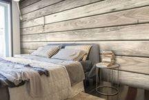 Brick and Wood Wallpapers / Tapety z motywem drewna i cegły stanowią wyjątkowo oryginalne dekoracje ścienne