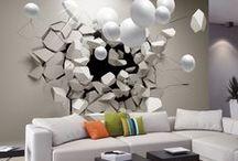 3D Wallpapers / Fototapety 3D to stanowią oryginalne dekoracje ścienne, dzięki którym optycznie powiększysz swoje mieszkanie