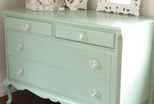 Painted Projects / Painted furniture and other DIY furniture projects / by Homemade Ginger | Tutorials, Home Decor, Crafts, Kids Crafts, Craft Tutorials, Saving Money!