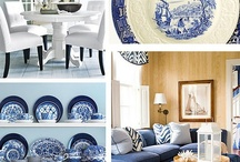 I LOVE ALL THINGS BLUE AND WHITE