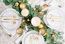 Lay the table / Table setting ideas.