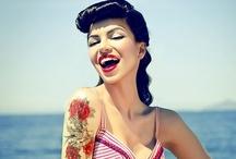 Girls - Rockabilly & pinups / Inked suicide girls, rockabilly girls, retro gals, pinups, vintage beautys and girls, girls, girls!