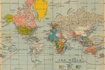 Maps & Globes / by Bette Calderone