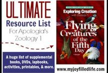 Apologia: Flying Creatures / Study birds, bats, bugs, and other flying animals