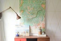 Home office / Home office, office spaces, lots of fun ideas and DIY:s.
