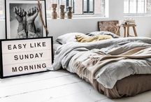 Bedrooms / Pastels, color, white and vintage bedrooms. DIY:s and fun ideas of decoration to inspire.