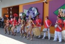 Batucada / Batucada Brasileña. Fiesta tema tipo Carvanal.
