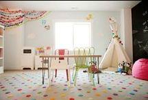 Basement / Basement home decor, playroom ideas