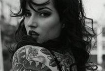 Girls - Inked / Gorgeous girls with gorgeous ink. All sorts, all forms. Inspiration for everyone!