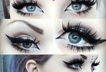 the EYES have it / #Eyeliner and other #eye makeup ideas.