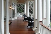 Porches / by CROWN & CLOTH