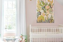 Nursery Inspiration / Inspiration for my baby girls nursery.