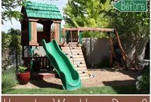 Backyard for the kids / Backyard ideas for the kids