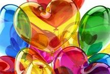 Hearts...Hearts...& More Hearts!!♥♥♥ / ♥I have a Passionate Obsession with these Beautiful Images!♥  / by Deb Hayes