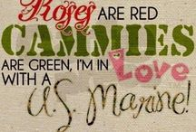 My Marine...My Man♥ / I am blessed to be the Wife of a Marine! An Iraq Vet & an Amazing Man! He holds the key to my Heart & Happiness....... He is My Everything!♥ / by Deb Hayes