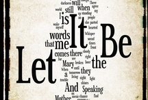 Let it be..... / by Nancy Lucchesi