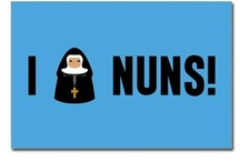 Nuns on the run..... / no pun intended, I truly love Nuns / by Nancy Lucchesi