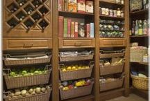Pantries, Shelving, Storage.  / by Ab & Lin Porter