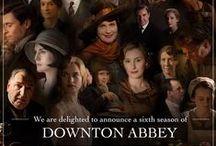 DOWNTON ABBEY / Downton Abbey TV series, actors & actresses, photos of scenes