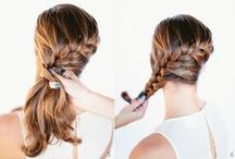 Pretty Long Hair Styles / long hair, braids, how to braids, how to style long hair, long hair tutorials, hair bun, top knot,