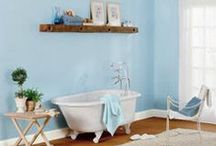 Bathroom Ideas / Renovating your bathroom? Check out these photos of beautiful bathrooms. / by The Nest