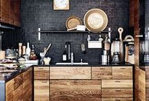 SPACES: Kitchen / Our endless search for the perfect kitchen - which one is your dream?
