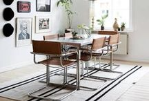 SPACES: Dining / Sharing a meal with family & friends is one of life's great pleasures. Do it in style.