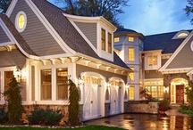 Home exterior ideas / by Esther Catandella