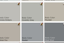 Wall colors that I like / by Esther Catandella