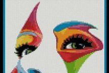 Cross stitch / by Maryna Kalyn