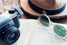 Wanderlust / Places to travel to, packing ideas, travel-themed goodies...