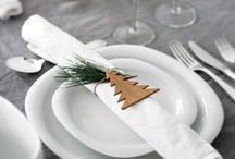 CHRISTMAS: Table & food / What's your Christmas style? Ideas for every festive table from formal elegance to colourful family feast, plus a few recipes for good measure.