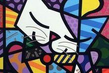 Romero Brito   / Ideas and inspiration for art lessons