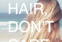 HAIR QUOTES / by Sarah Potempa