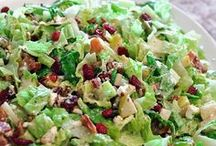 Salads / Get your green on with these delicious salad recipes from around the web.