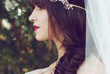 WEDDING HAIR / Wedding hair <3  / by Sarah Potempa